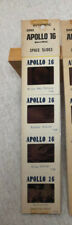 Vintage NASA Space Color Slides Apollo 16 - Milky Way, Buster & King Crater, etc