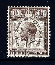 GREAT BRITAIN - GRAN BRETAGNA - 1929 - Re Giorgio V. 9° congresso dell'UPU