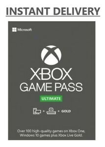XBOX LIVE GOLD + Game Pass Ultimate Code (7 Days, 14 Days, 1 Month, 12 months)
