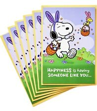 Easter Cards- Hallmark Peanuts Pack of Snoopy Cards, Jelly Beans