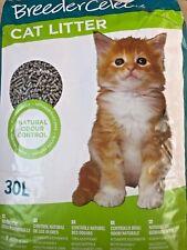 2X 30L = 60L BREEDER CELECT CAT LITTER  RECYCLED PAPER PELLETS BIODEGRADABLE