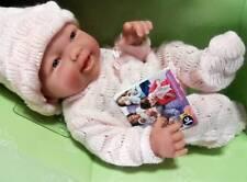 "Berenguer Mini La Newborn Doll 9.5""  Real Girl Anatomically Correct"