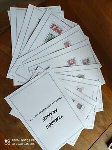 67 Feuilles préimprimées de Bienfaisance - Instruction - Expérimentale - Fictif