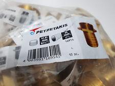 """10 Stk.Petzetakis 1/3 Schlauchverschraubung Messing AG 1 1/4"""", 25 mm Tülle,SW50"""