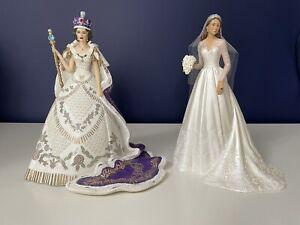 2 Hamilton Royal Collection Figures