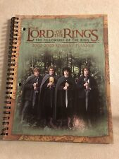The Lord Of The Ring The Fellowship Of The Ring 2002-2003Student Planner NEW RAR