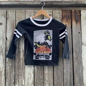 Led Zeppelin Kids Vintage Style Retro Long Sleeve T-Shirt by Trunk LTD Size 6