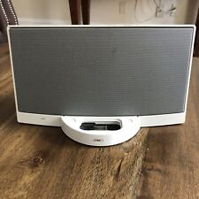 Bose SoundDock Series I White iPod Speaker No Power Cord No Remote Not Tested A5