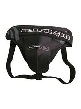 New Powertek Barikad ice hockey goalie goal jock cup strap protector senior sr