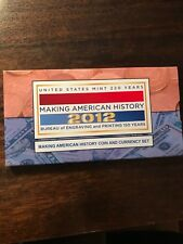 2012 Making American History Proof Silver Dollar and $5 Bill