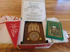 AMERICAN GIRL KIT RADIO SET ROBIN HOOD BOOK PENDANT NEW IN BEFOREVER BOX