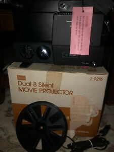 Dual 8 Silent Movie Projector