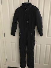 Obermeyer Northern Lights Womens Sz 8 Full Ski Snow Suit Black TS9