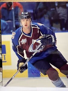 ROB BLAKE COLORADO AVALANCHE Signed Autographed Action 16x20 PHOTO HOF