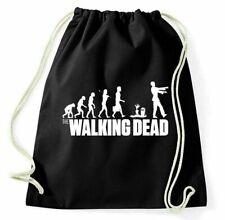 The Walking Dead Turnbeutel Zombie Evolution Sportbeutel Jutebeutel Rucksack Fun