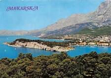 Croatia Makarska General view Panorama 1976