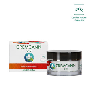 CREMCANN Q10 50ml Tagespflege Anti Aging Tagescreme mit Hanföl und Coenzym Q10