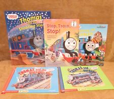 Thomas the Tank engine book lot 5 hardback stop train vintage shooting star