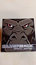 "RAWLINGS SILVERBACK SOFTBALL 1 DOZEN 12"" COMPOSITE COVER (LOT OF 12) NEW in BOX"