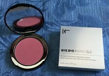 It Cosmetics Bye Bye Pores Blush in Love~Natural Soft Pink~New Shade~Nib