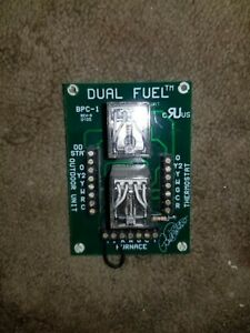 HVAC Bill Porter Heat Pump Controls Dual Fuel STAT Unit
