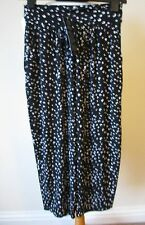Kim & Co Brazil Knit Cropped Wellness Trousers New Tags Small Black Multi