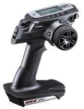Sanwa MX-6 DRY 3-CH Fernsteuerung 2,4GHz mit RX-391W Empfänger #101A32571A