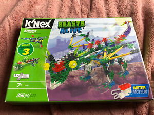 Knex Beasts Alive Stompz Building Set (COMPLETE)