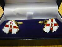 Ulster Northern Ireland Enamel Crested Tie Slide N10 Gift Bagged