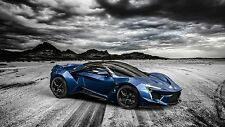 "19"" x 13"" Poster Fenyr Supersport Supercar"