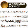 Woodland Scenics OO HO Gauge 1:76 1:87 Scale Model Figures Large Choice