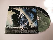 CD Série Spectaculars Classics - Rachmaninov (pochette cartonnée)
