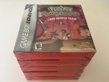 Pokémon Mystery Dungeon: Red Rescue Team (Nintendo Game Boy Advance, 2006) NEW