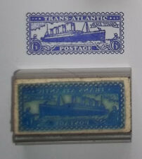 Titanic Postage rubber stamp by Amazing Arts