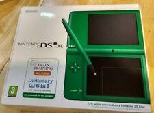 Sistema portátil Nintendo DSi XL Verde En Caja Y Completo