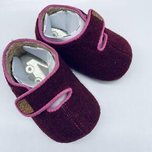 See Kai Run Baby Cruz Berry Lined Felt Bootie Infant 0-6 Months