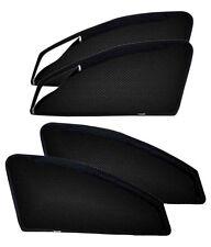 Mahindra Verito Zippered Zip 4 Pc Magnetic Side Window Sun Shade Mesh Curtain