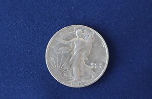 1942-S Liberty Walking Silver Half Dollar M1336