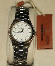 Ebel Classic Black Dial Stainless Steel Swiss Quartz Ladies Watch 1216017