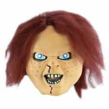 Childs Play Chucky Latex Mask Horror Masquerade Fancy Dress Halloween Props