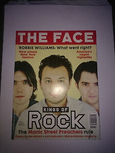 Face Magazine ,Vol 3 No 20 Sept 1998 Manics (MINT)