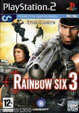 JEU PS2../...TOM CLANCY' S.......RAINBOW SIX 3..........