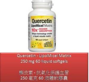60 S Quercetin - LipoMicel Matrix 250 mg - Natural Factors