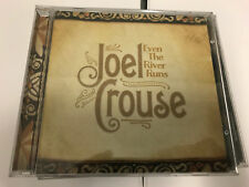 Joel Crouse   EVEN THE RIVER RUNS   (CD 2014) NEW UNSEALED [B5]