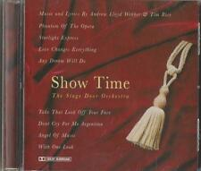 C.D.MUSIC D258  SHOW TIME  THE STAGE DOOR ORCHESTRA  CD