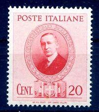 GUGLIELMO MARCONI - 1938  Cent. 20  NUOVO **