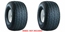 (TWO) 15X6.00-6 15/6.00-6 Carlisle Turf Master Tbls 4ply Rated Lawn Mower Tires
