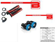 MANOPOLE ROSSE + CONTRAPPESI B-LUX BLU + ADATTATORI per YAMAHA T-MAX 500