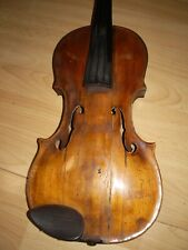 Geige mit Zettel Josef Klotz in Mittenwalde 1795 ??