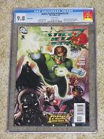 Justice Society of America 5 CGC 9.8. Variant cvr. 6/07. Hal Jordan cover!
